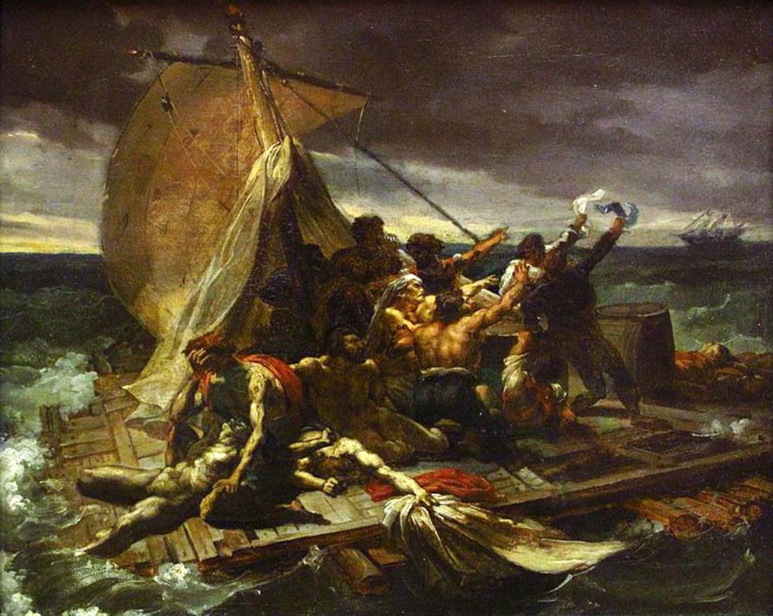 Théodore_Géricault_-_Le_Radeau_de_la_Méduse_esquisse_(salon_de_1819)-1