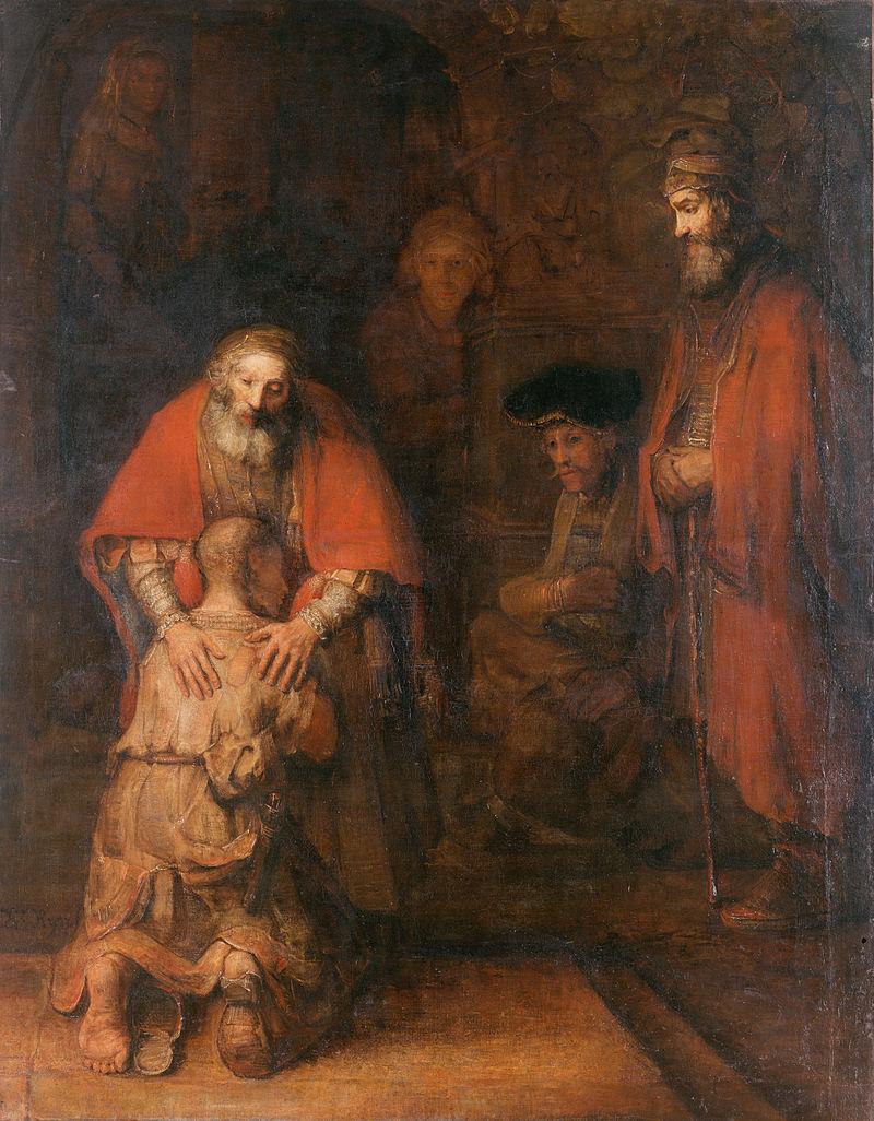 Rembrandt_Le retour du fils prodigue_1
