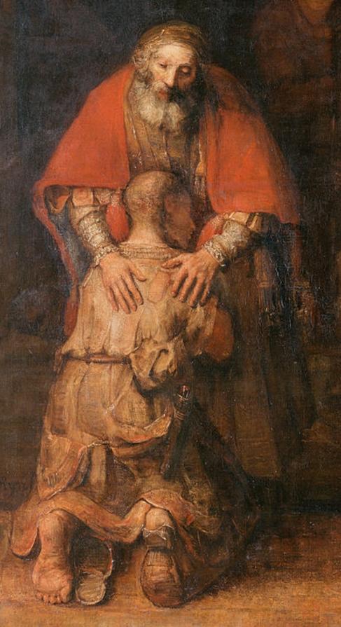 Rembrandt_Le retour du fils prodigue_2_Détail